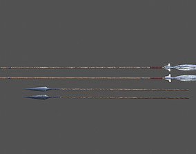 3D model Viking Spear Kit