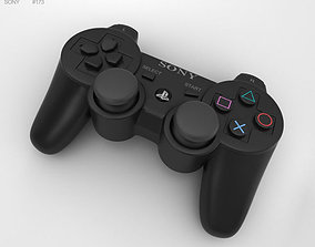 3D Sony PlayStation 3 Controller