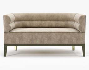 3D model Brabbu Maasai 2 seat sofa