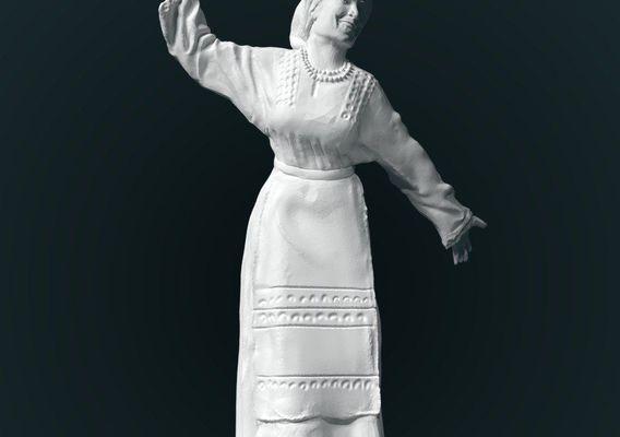 Ensemble - part 2, low poly model for 3d print
