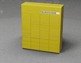 Packstation Object -10- Packstation 3D asset