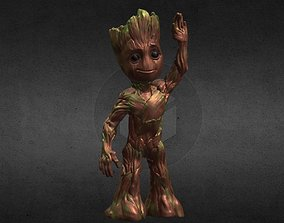 Baby Groot from Guardians of the 3D printable model 4