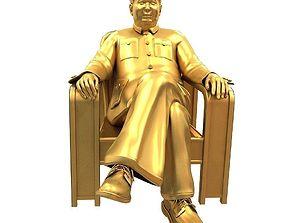 Mao Zedong 3D model