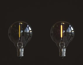 3D PBR LED Light Bulbs