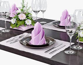 table setting 02 3D