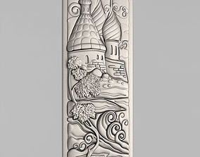 3D print model Carved panels pano