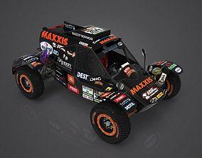 racecar Suzuki Swift GTI Buggy UTV Dakar 3D model