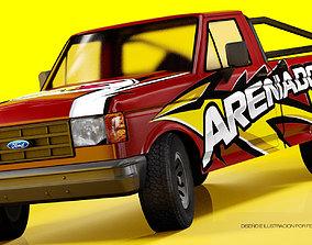 3D model Ford F150 1992 utility