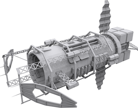 Blackstar - Mining Syndicate 3D model