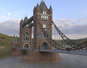 exterior BRIDGE 3D model