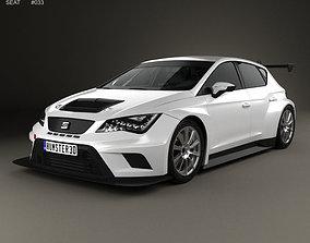3D model Seat Leon Cup Racer 2014