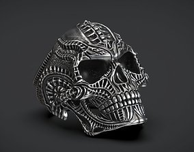 Ring Skull Biomechanics STL 3d model for 3d printing