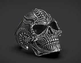 Ring Skull Biomechanics STL 3d model for 3d printing