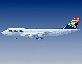 3D model South African Airways
