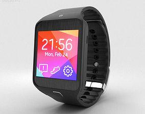 3D Samsung Gear 2 Neo Charcoal Black