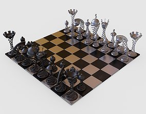 Chess Game 3D model check