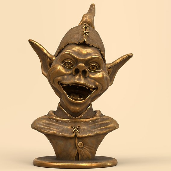 Bust Troll 3D print model