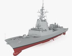 Hobart-class destroyer 3D