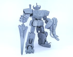 3D Printable Power Robot not Dino Megazord -No Supports