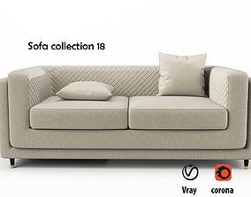 Sofa collection 18 3D