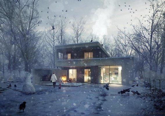 The Unbuilt House By Csaba Banati