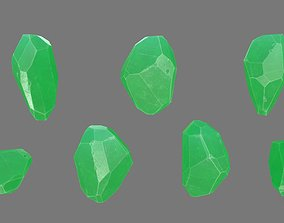 Crystal 3D asset low-poly nature