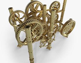 3D Gear Mechanism machinery