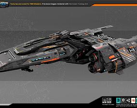 3D asset Federation CommanderShip GB7