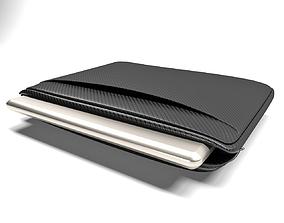 Laptop Sleeve in open position 3D