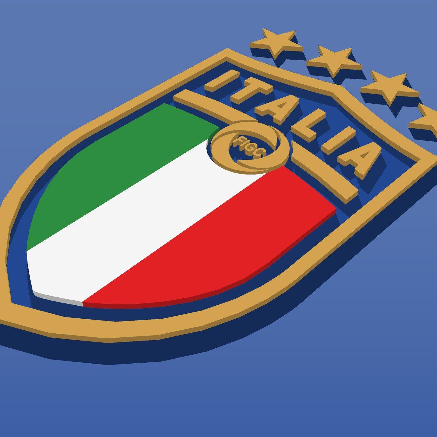 Forza Azzurri for Italian soccer team