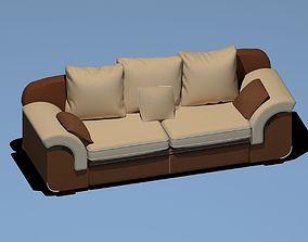 furniture furnitureset-challenge 3D model Sofa