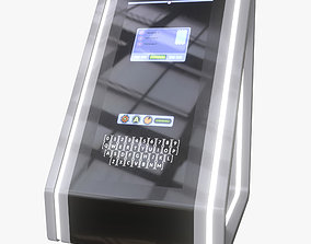 Minimalistic Computer 04 3D model