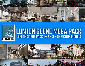 Lumion Scene Mega Pack - 36 Lumion and Sketchup 3D