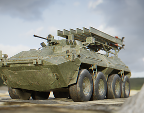 3D model ZHK RS Vehicle for Games