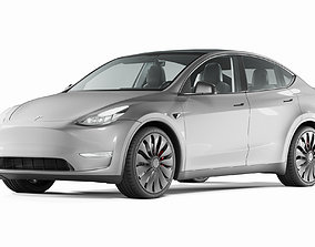 Tesla Model Y energy 3D