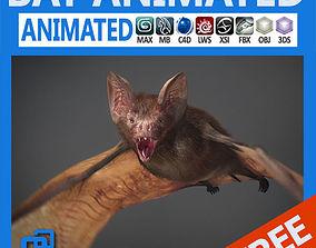 Animated Bat 3D model