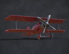 ww biplane 3D model