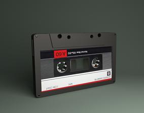 3D Tape Cassette 3 d