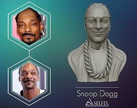 Snoop Dogg 3D sculpture Ready to 3D print