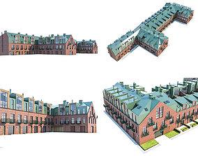 3D asset Modern Loft Building
