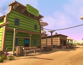 realtime 3D Cartoon Western Pack Vol 2