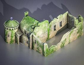 Scotney Castle 3D asset