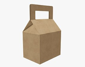 Carrying box tapered 3D