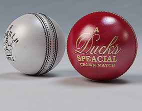 3D model Cricket Ball Standard