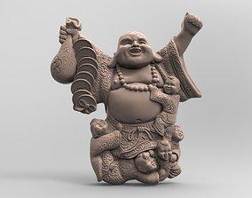 Hotei Children God of fun in Japanese 3D print model