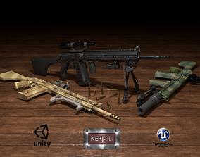 3D asset AK DMR Package