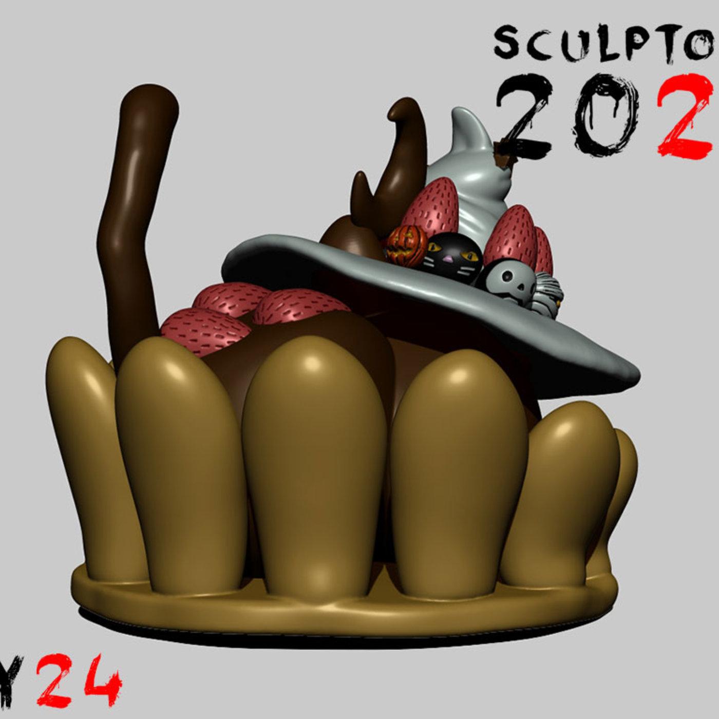 Sculptober Day 24 Sweet