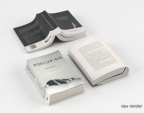 Open Book Set 3D model