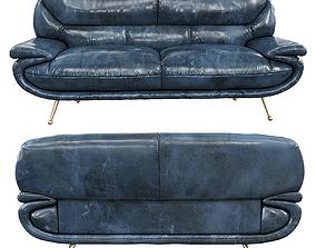3D model American Eagle - Arcadia bespoke vintage sofa