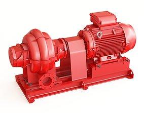 3D model Pump water